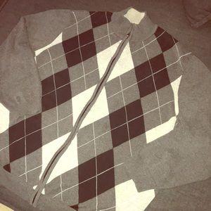 🎉  men clubroom zipper up sweater 🎉
